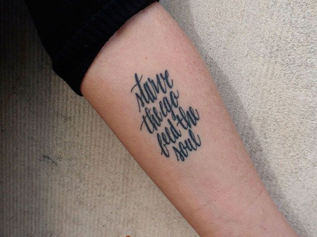 AIGA | Permanent Marks: Typographic Tattoos and Their Stories