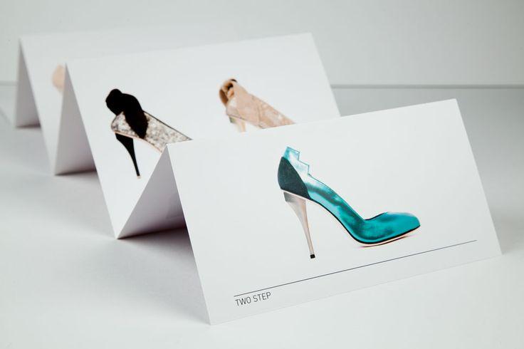 Concertina fold fashion leaflet