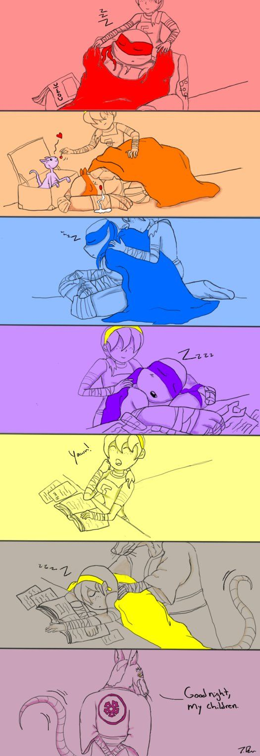 Sibling slumber to father by joselyn565 on DeviantArt