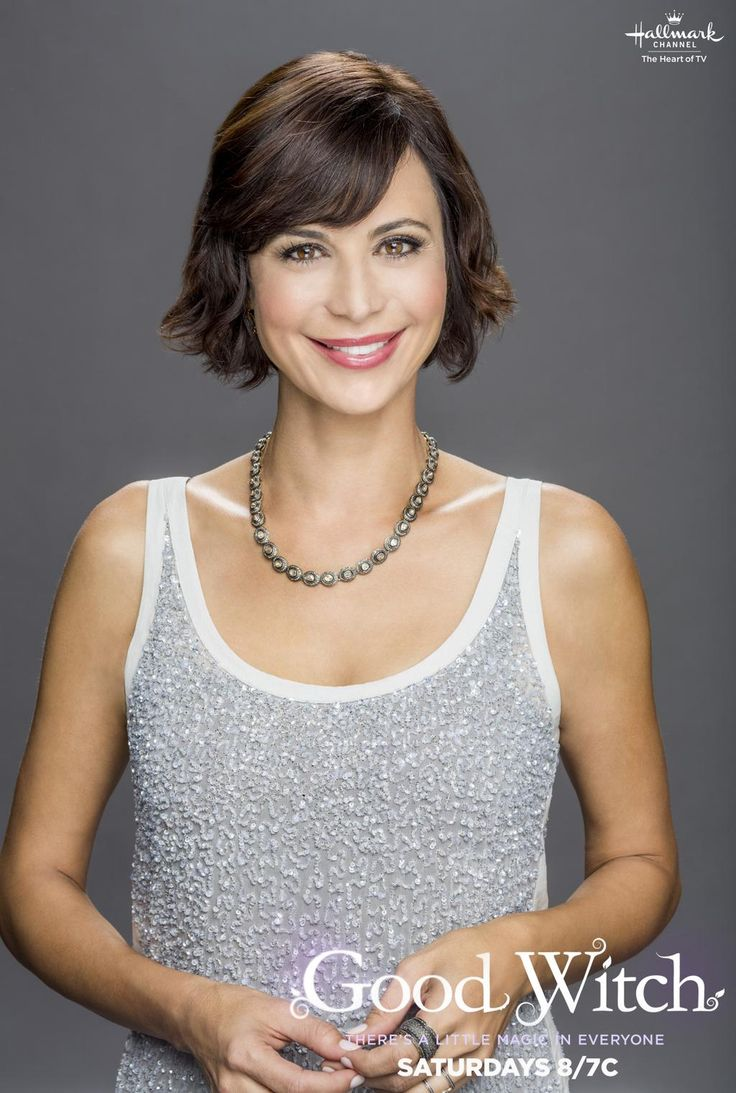 I just really like this photo of Catherine Bell (the Good Witch on Hallmark Channel :)