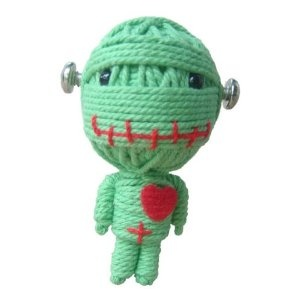 String Voodoo Doll Keychain the Zombie Classic Doll Series From Thailand Free Shipping