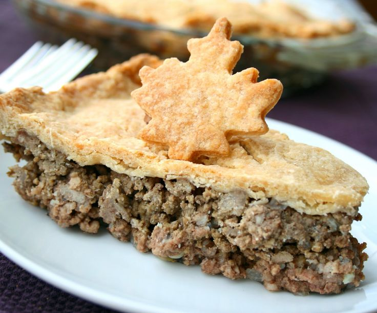Classic, hearty French Canadian tourtiere (pork pie). I grew up on this and it was one of the first family recipes I learned to make.