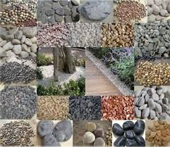 resultado de imagen para piedras decorativas para jardin