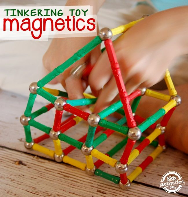 Magnetics are magnet toys for kids. Here is what one family thought of the magnetic toy set - Magnetics!