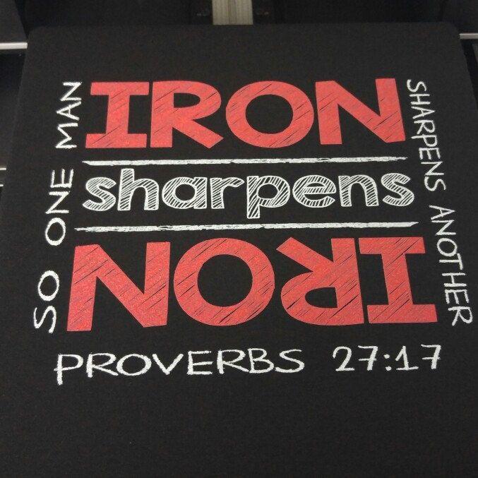 Proverbs 27:17 Scripture Tshirt
