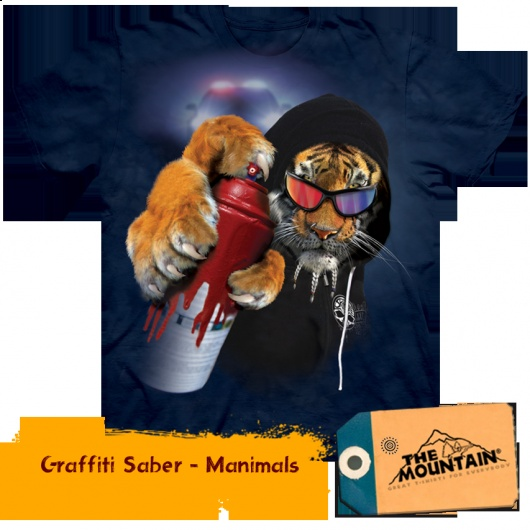 Graffiti Saber Manimals