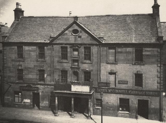 The Old Tolbooth and Gaol Rutherglen 1895