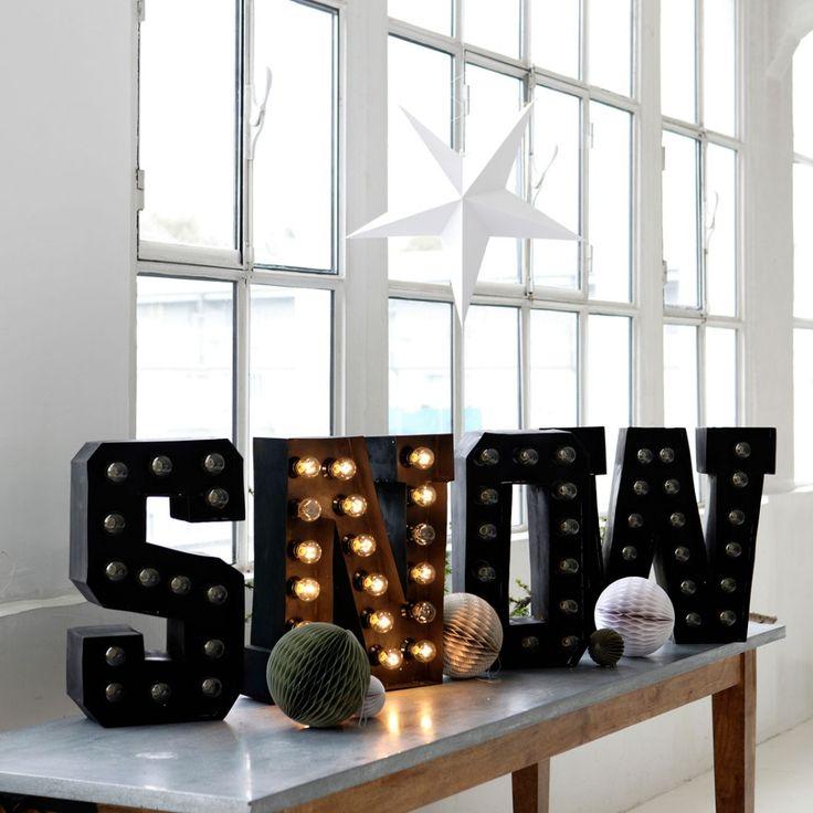 Świecące litery