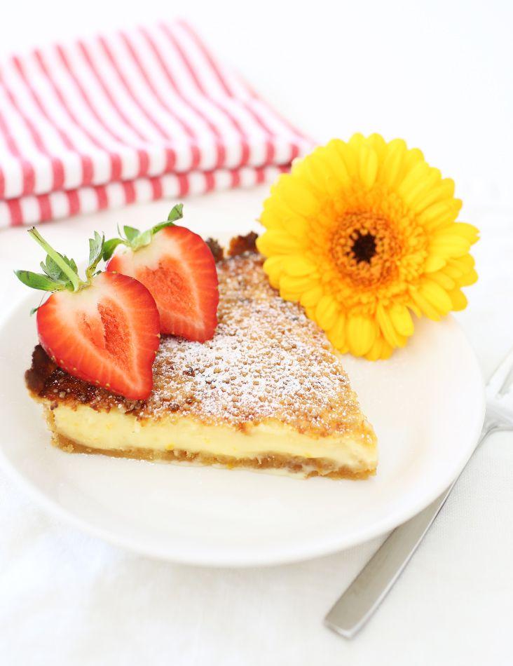 Crème brûlée -piiras