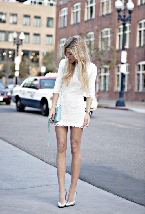 .Fashion, Style, Rebecca Minkoff, Than, White Lace Dresses, Minis, The Dresses, Little White Dresses, Bags