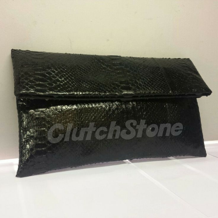 Mini frizi python skin black gloss size 15x28, suede cloth inside IDR : 350.000 exclude shipping
