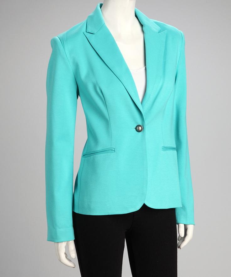 Best 20 Turquoise Blazer Ideas On Pinterest Women S