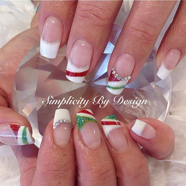 Day 359: Merry Christmas Nail Art - 545 Best Christmas Nail Art Images On Pinterest Christmas Nail