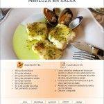 Recetas de Dieta   Merluza en Salsa