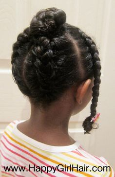 Kids Age Appropriate Protective style