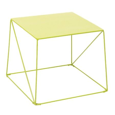 Solano Metal Coffee Table Green