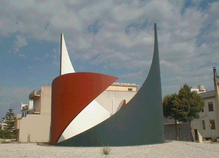 Nino Franchina – Labirinto (1991) Gibellina (Sicile) Italie