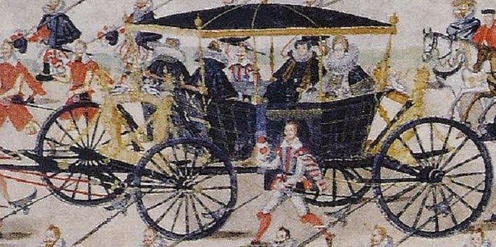 Rulon polski - ok. 1605r. Fragment - arcyksiężniczka Konstancja.