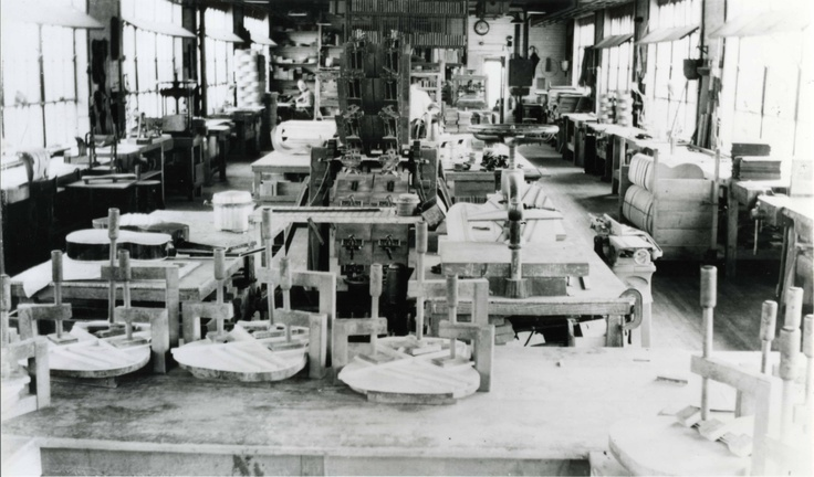 3rd Floor of the North St. Factory-Martin Guitar