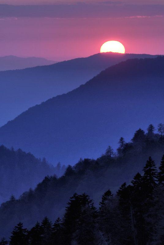 Mountain Sunset by Paul Wilkinson
