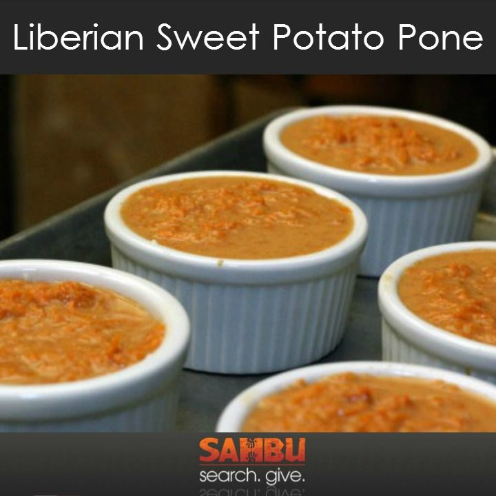 , Potatoes Pone, Liberian Sweet, Liberian Food, Sweet Potatoes, Pone ...