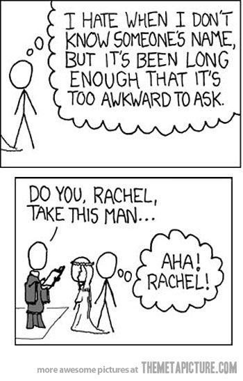 This is so me!  You can sometimes get away with it by asking how to spell their names...unless their name ends up being Bob...