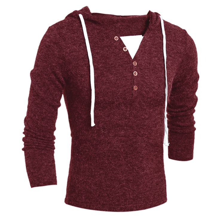 New Autumn Winter Warm Mens Brand Knitted Sweater Thick Full Sleeve Hooded Pullover Men Jumpers V-Neck Sweaters Men 22