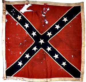"""Battle Flag Of The 26th North Carolina (The Museum Of The Confederacy)  """"North Carolina cannot remain much longer stationary; she must write her destiny either under the flag of Mr. Lincoln and aid to coerce the south or unite with the south to..."""