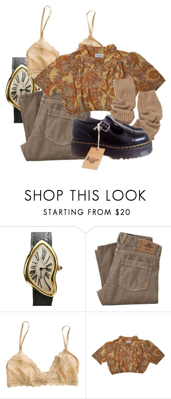 """""""Geen titel #437"""" by robin-jose ❤ liked on Polyvore featuring Cartier, Eberjey and Dr. Martens"""