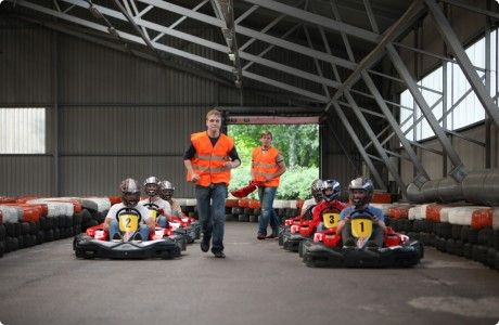 preparing for the competition - indoor karting #stagdo #tallinn