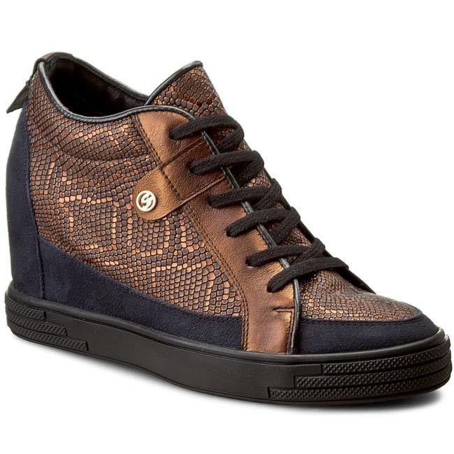 Sneakersy SENSO - 145868-1 Livery Small Miedz
