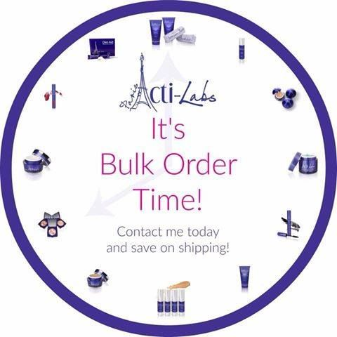 My next bulk order is going in later this evening - hop on and save on postage.    We have the following new products:-  NEW Mega Matte colours!  NEW improved Hydraslim  NEW Energising Vitality Lotion  NEW Skyscraper Mascara  and lots more!   Just drop me a message xxx