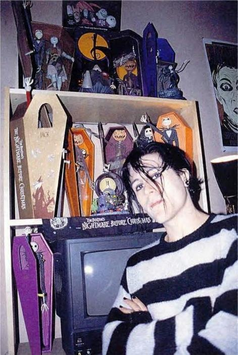 Davey Havok with The Nightmare Before Christmas Collection!!!