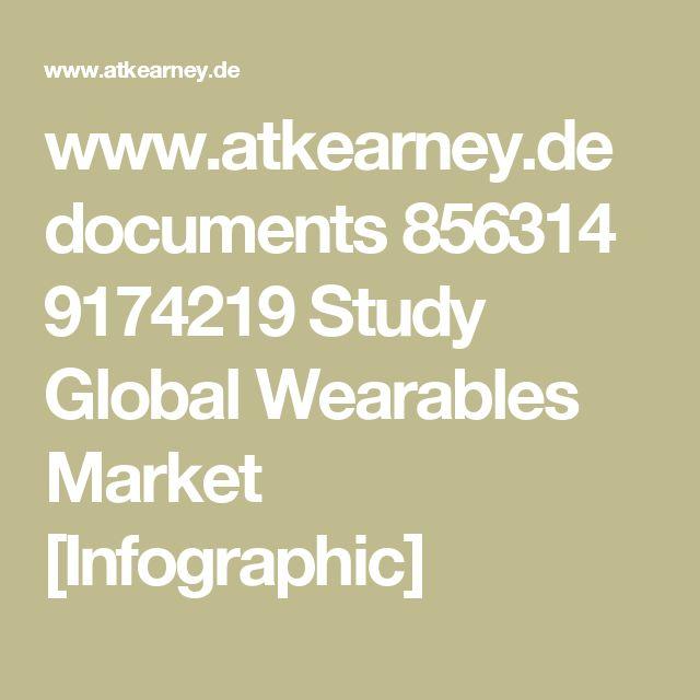 www.atkearney.de documents 856314 9174219  Study Global Wearables Market [Infographic]