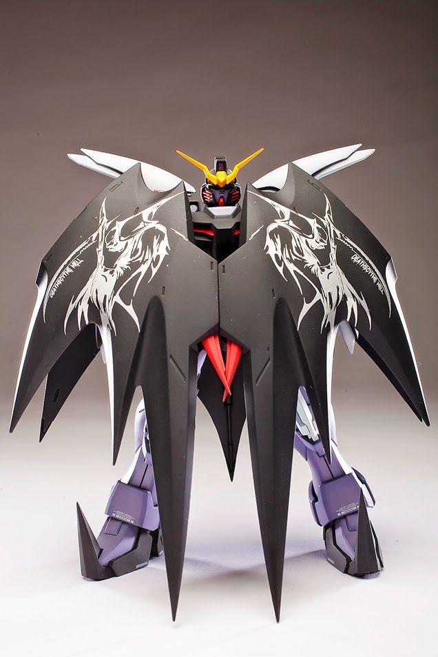 MG 1/100 Deathscythe Hell Custom EW - custom build - Gundam Kits Collection News and Reviews