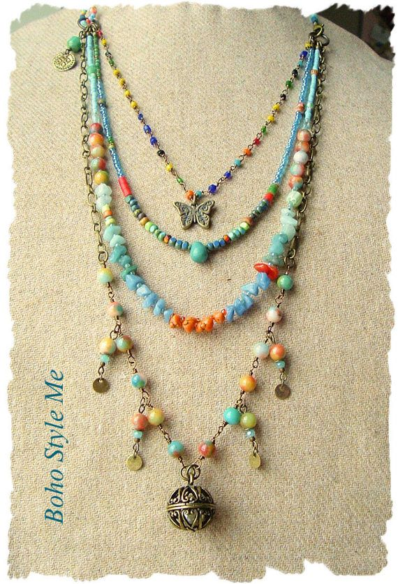 25 best ideas about bohemian necklace on pinterest boho