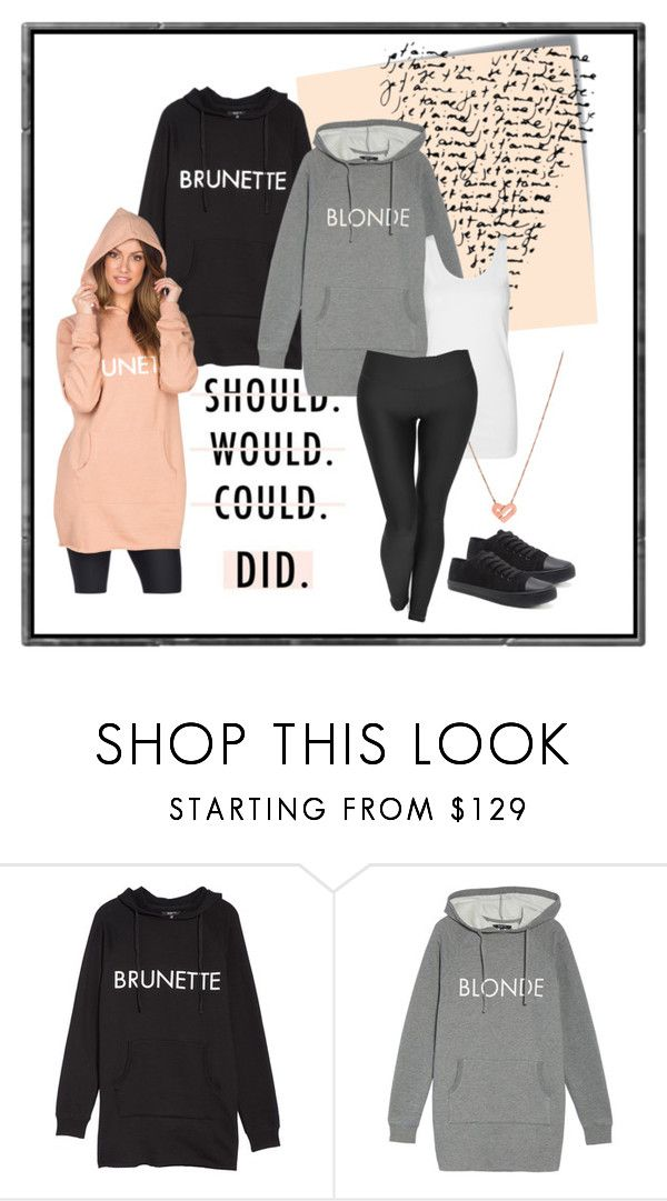 """Brunette blonde or Redhead"" by kali-lynne on Polyvore featuring Post-It and Brunette"