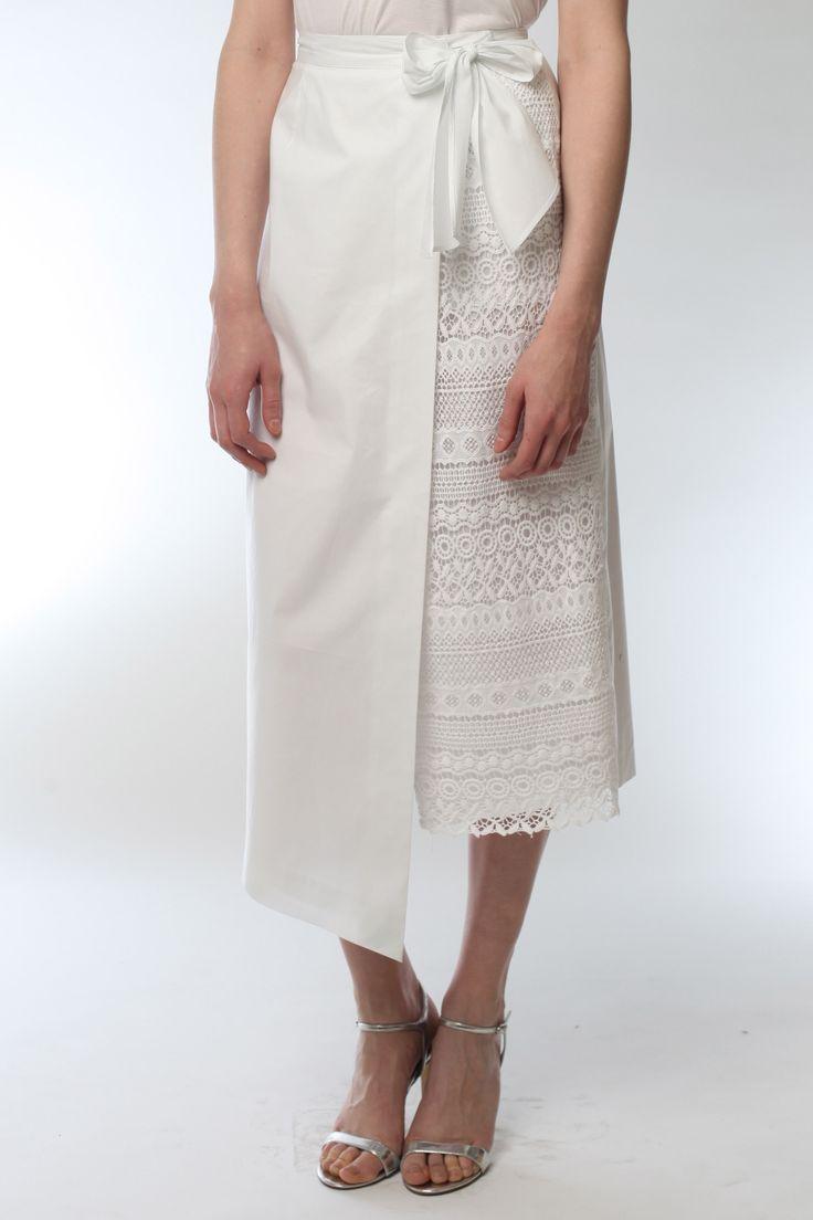 Tie On Wrap Skirt Style # 1794