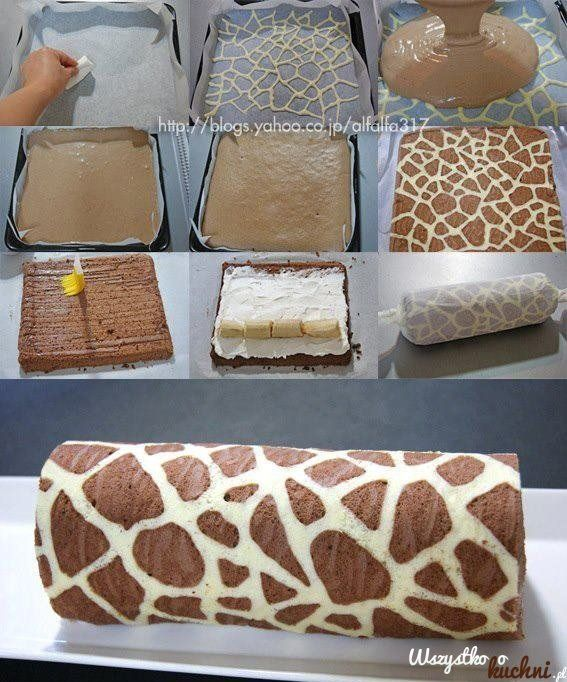 Tak+powstaje+ciasto+żyrafa...