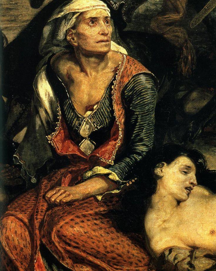 Eugene Delacroix - Scenes from Massacre at Chios