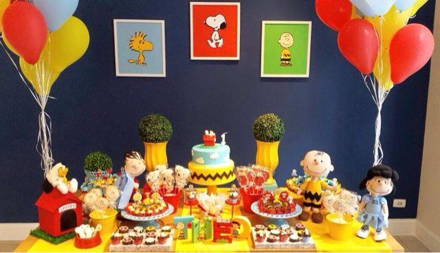 Festa: Tema Snoopy