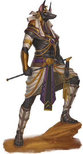 Mitología egipcia...Anubis es considerado tambien el Poderoso Dios Protector de la Muerte y de los Muertos.