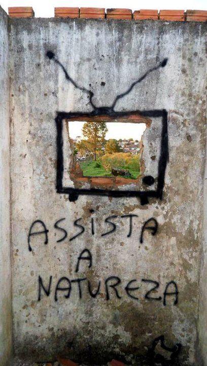 Assista a natureza! #vandal #pixação