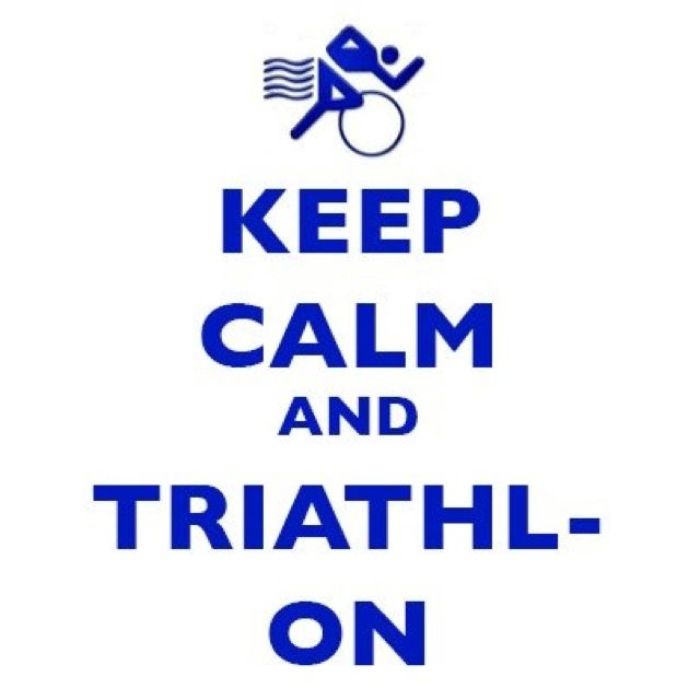 Keep calm and triathlon!