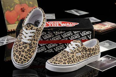 Вэнс счетчик подлинной женщины скейтборд обувь спортивная обувь женская обувь Аутентичные ФУРГОНЫ Франциско классический леопард высокой вер ...