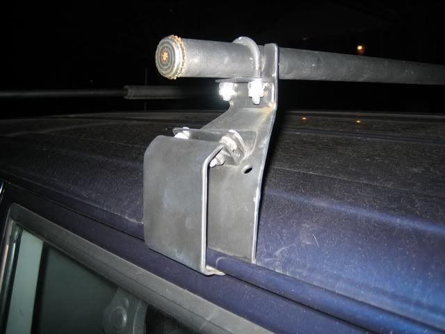 Homebrewed Gutter Mount Roof Rack Jeepforum Com