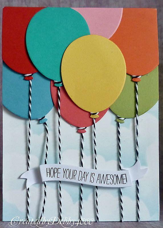 Картинки виктор, открытка с воздушным шаром из цветной бумаги
