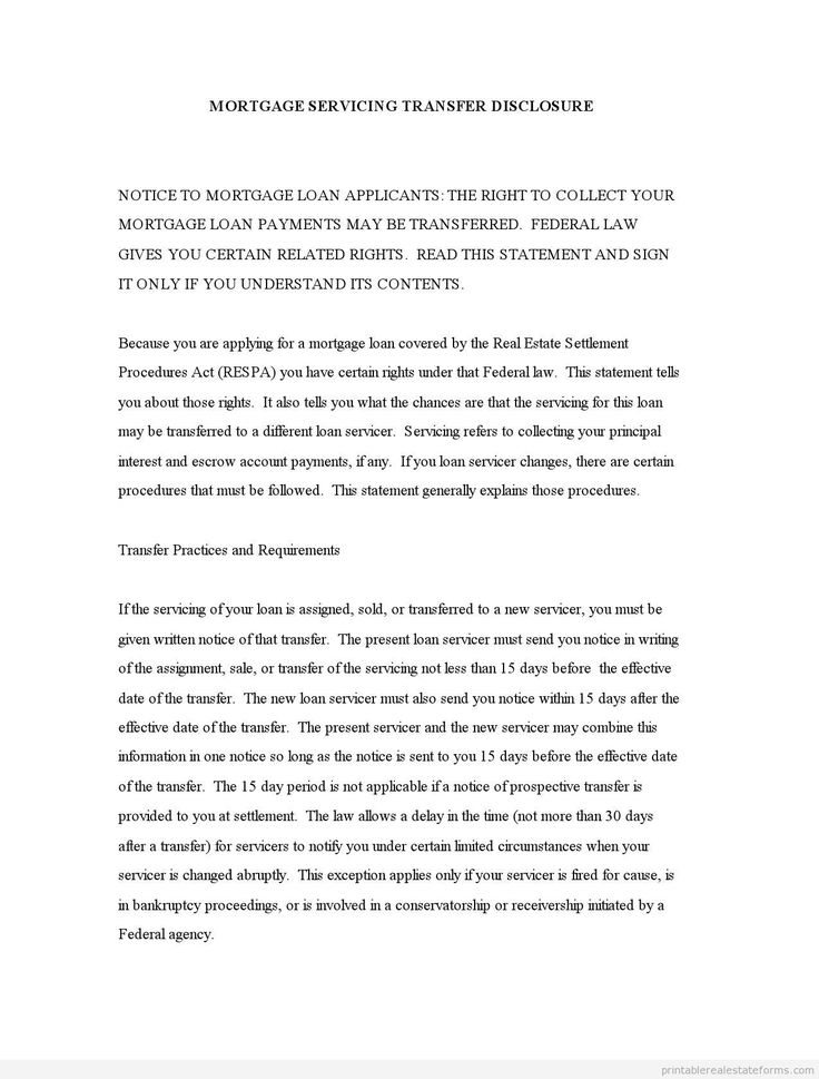 1000 images about Template For Real Estate PDF – Sample Mortgage Document