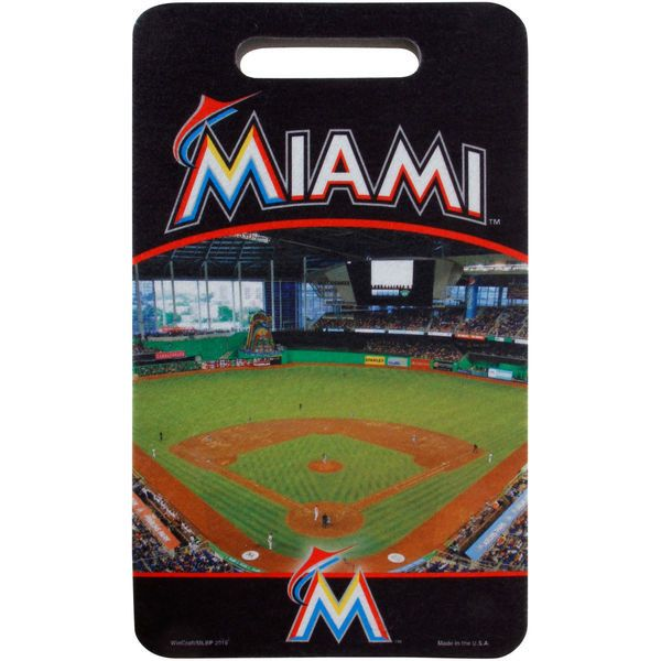 Miami Marlins WinCraft 10 x 17 Stadium Seat Cushion