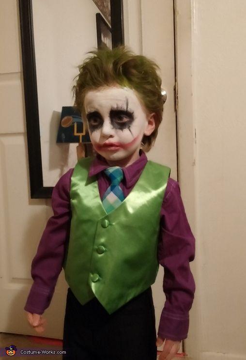 Joker - Homemade costumes for boys